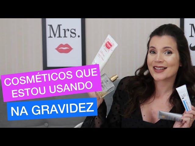 COSMÉTICOS QUE ESTOU USANDO NA GRAVIDEZ - ESTRIAS - ESPINHAS - QUEDA DE CABELO