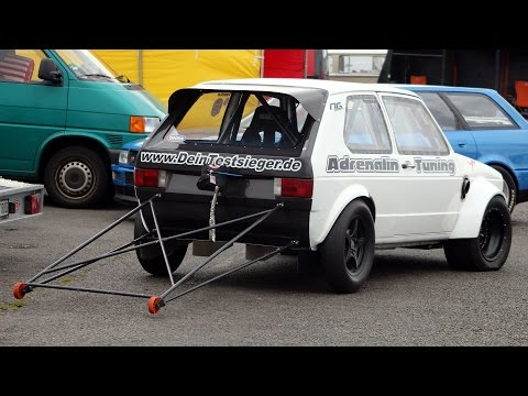 Adrenalin Tuning VW Golf Mk1 – Europes Fastest FWD Car!