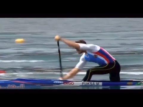 2018 ECA Canoe Sprint European Championships in Belgrade, Serbia  Men's C-1 500m Final A.