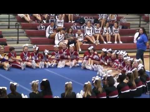 2012 North Forsyth Middle School Cheerleading - Dawson County Competition (Awards)