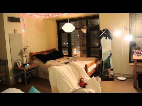 2014 Dorm Room Tour DePaul Roosevelt Robert Morris and Columbia Housing