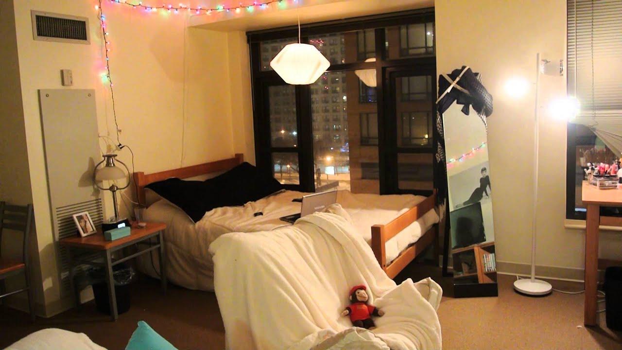 2014 Dorm Room Tour DePaul Roosevelt Robert Morris And Columbia Housing    YouTube Part 40