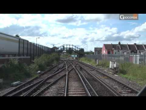 Train Travel - Driver View -  East Kent - South East UK