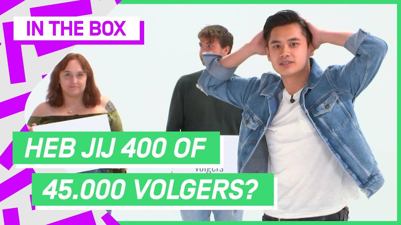 Insta volgers raden op basis van uiterlijk: KAN DIT? | In The Box #3 | NPO 3