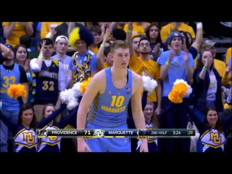 #MUBB Game Highlights: Providence 79, Marquette 78 - Jan. 28, 2017