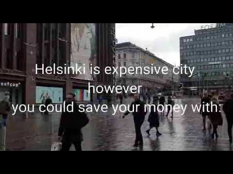 How Much the minimum living cost in Helsinki?