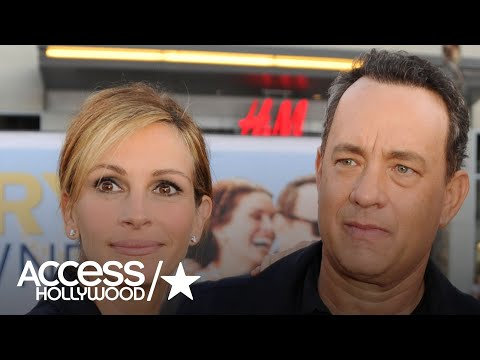 Julia Roberts Talks Raising Teens & Hanging Out With Tom Hanks  Access Hollywood