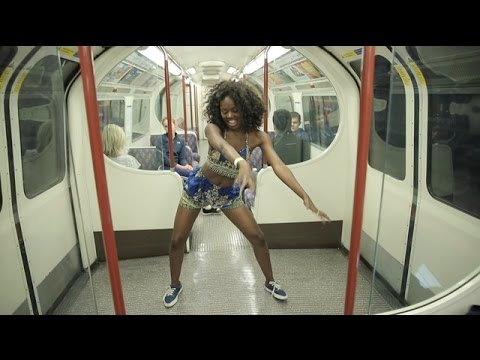 Panda X Cheerleader African Remix | Dance By Sherrie Silver- with class thumbnail