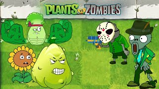 PvZ Creative funny animation: Plants vs Zombies 2 - Zombies Camouflage (HD)