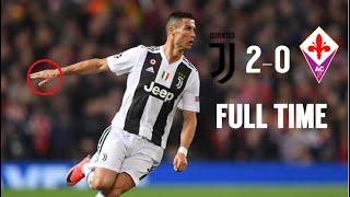 Fiorentina vs Juventus (0-3) ●All goals & Best highlights