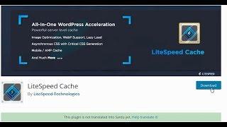 iNET - Hướng dẫn cách kích hoạt LSCache Lightspeed cho website
