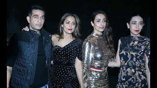 Malaika Arora, Amrita Arora, Karisma Kapoor at Punit Malhotra Birthday Bash