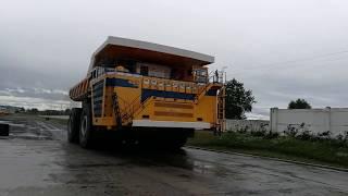 Демонстрация 450 тонного  БЕЛАЗа