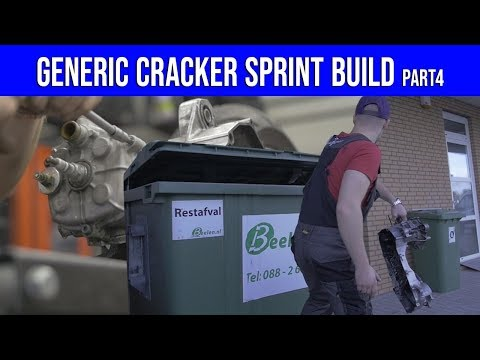 GENERIC CRACKER SPRINT SCOOTER MOTORBLOK DEMONTEREN PART 4  VOL GAS MET JOEY