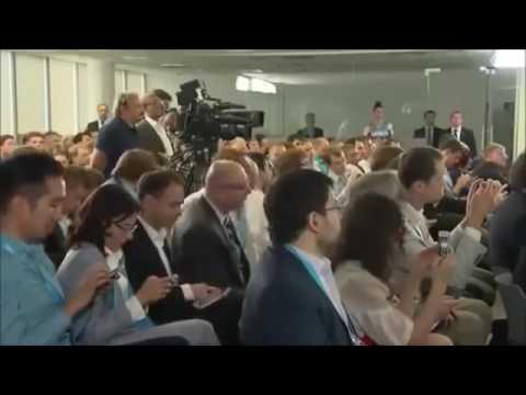 Putin i Medvedev ob internet perspektivah YouTube