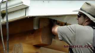 How To Install Log Siding