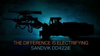 the difference is electrifying sandvik dd422ie