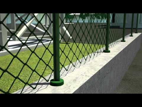 Siepe artificiale foglia bosso sintetica montaggio by for Vortek recinzioni
