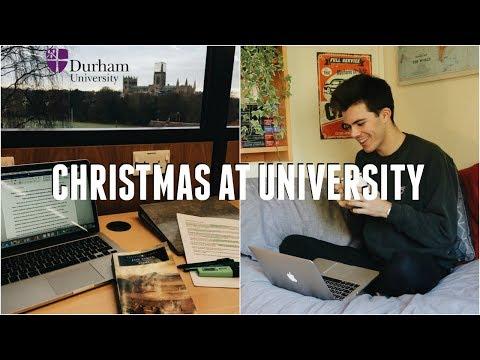 UNI VLOG: Christmas At Durham University (Snow, Skating, And Secret Santa)   Jack Edwards   AD