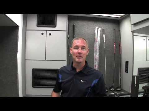 Inside The Nike Golf Tour Van
