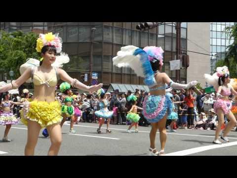 神戸まつり2017パレード 神戸サンバチーム