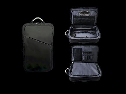 Barber Backpack, Barber Bag, Hair Stylist Backpack -- Ultimate Mobile Barber