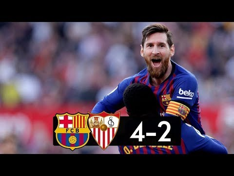 Sevilla vs Barcelona 2−4 │All Gоals   Hіghlіghts │Hat Trick MESSI