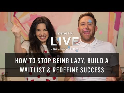 Stop Procrastinating, Get More Clients & (Finally) Take a Vacation | MarieTV Live Call-In Show