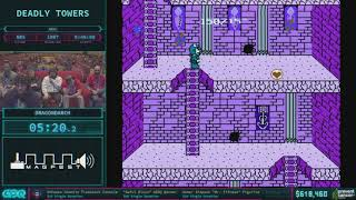 Deadly Towers by Dragondarch in 34:26 AGDQ 2018
