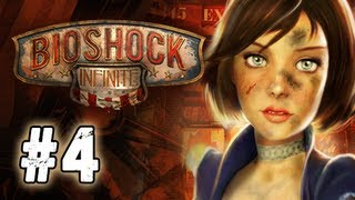 Bioshock Infinite Walkthrough - Part 4 Sky Line Ultra Let's Play Commentary