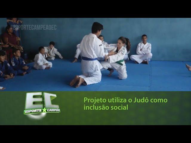 Projeto utiliza o Judô como inclusão social para crianças e adolescentes