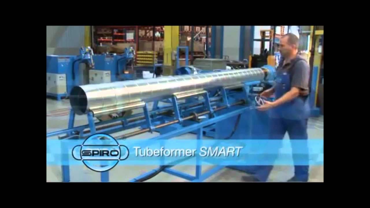 Спирально-навивной станок SPIRO TUBEFORMER SMART