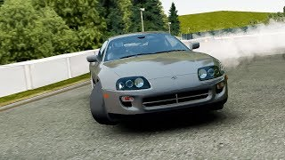 [Assoluto Racing] Toyota Supra RZ First Person View Drifting footage