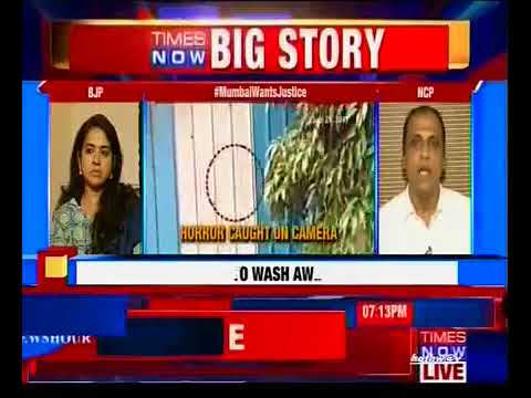 Clyde Crasto, Spokesperson - NCP, Mumbai Wants Justice,  Times Now Debate, 30/09/2017