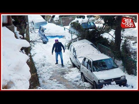 Cold Wave Continues To Sweep Shimla, Srinagar, Temperature Falls To 6 Degree