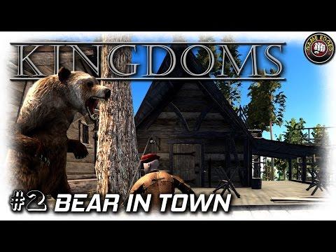 Kingdoms | Bears & Workers House | EP2 | Let's Play Kingdoms Gameplay