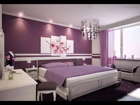 Modern Living room and bedroom wall paint ideas 2020