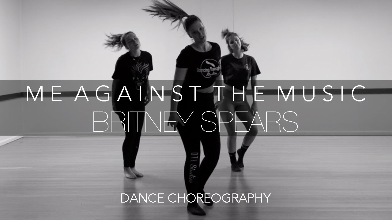Dancing Through Life Studios | DANCE CHOREOGRAPHY | Me Against The Music Britney feat. Madonna