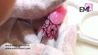 Сердце океана   мастер класс по дизайну ногтей от Екатерины Мирошниченко