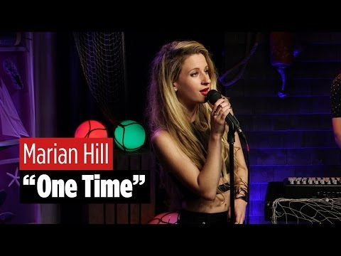 "Marian Hill Performs ""One Time"""