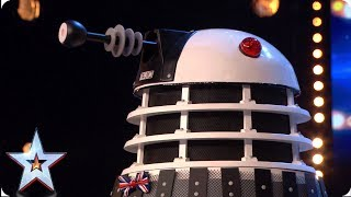 Britain's next big Dalek? Meet Ron... | Auditions | BGT 2019