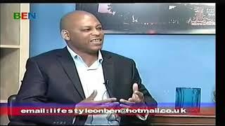 Lifestyle show on BEN TV, June 2012