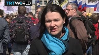 Russia Opposition Protest: Activists mark 2012 Bolotnaya Squar…
