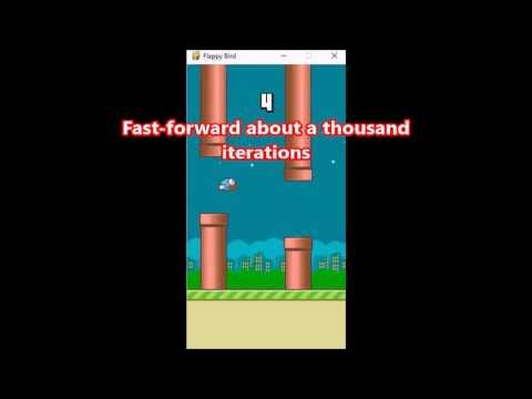 Flappy Bird Bot - Reinforcement Learning AI
