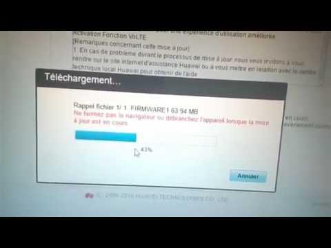mise a jour modem 4g lte algerie
