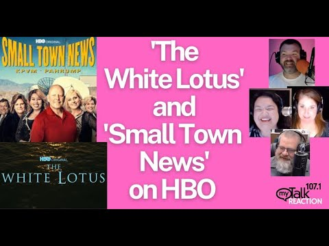HBO's The White Lotus and Small Town News - The Morning Show Reacts to Two Hottest Shows