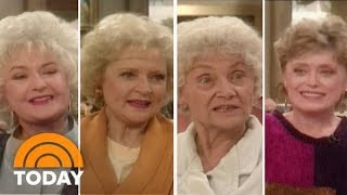 'The Golden Girls' Cast Interview From 1991 | Flashback Friday | TODAY