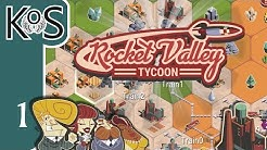 Rocket Valley Tycoon Ep 1: TRAIN INCREMENTAL! - First Look - Let's Play, Gameplay