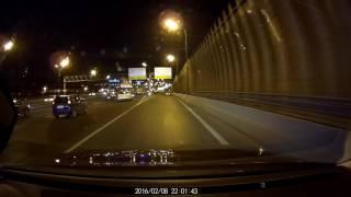Neoline z1 видеорегистратор снимает ночью(Видеорегистратор http://topradar.ru/product/neoline-evo-z1/, 2016-11-14T11:01:15.000Z)