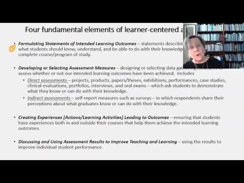 Writing Educational Learning Outcomes